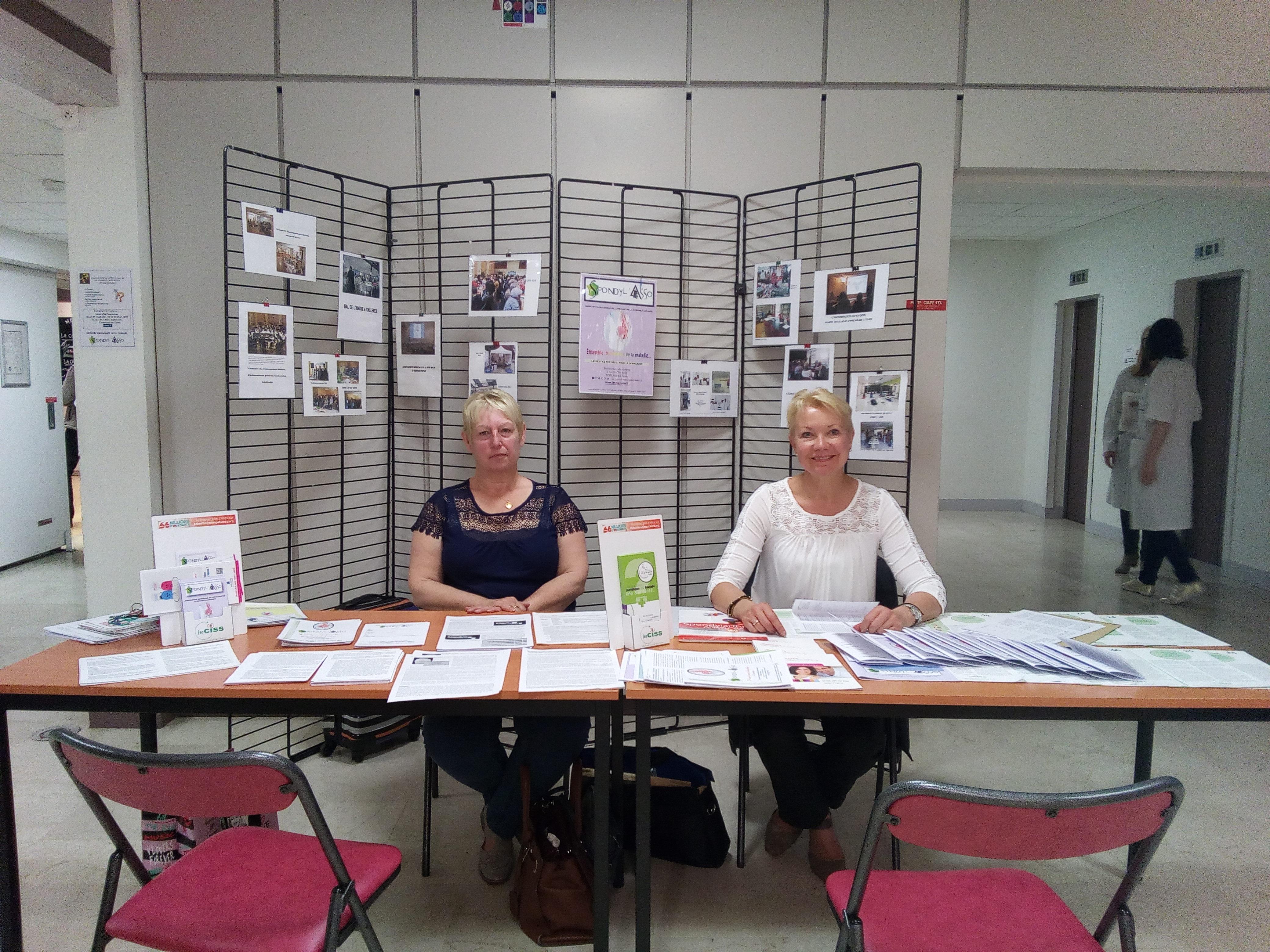 stand infos au CHRU Trousseau